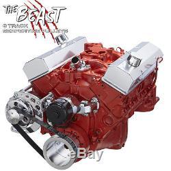 SBC Electric Water Pump Serpentine Conversion Kit Alternator Chevy Small Block