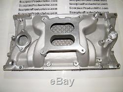 SBC SMALL BLOCK CHEVY Aluminum Intake Vortec Dual Plane 1500-6500 327,350,383