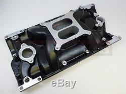 SBC SMALL BLOCK CHEVY Aluminum Intake Vortec Dual Plane Powder Coate 350,383,305