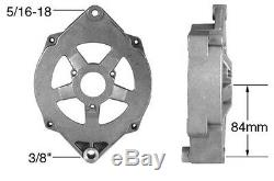 SBC Serpentine Pulley Conversion Kit ALT PS Mid Mount Chevy Small Block LWP 4