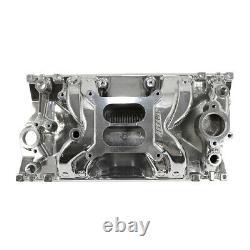 SBC Small Block Chevy 1996-2002 Vortec Air Gap Polished Aluminum Intake 305 350