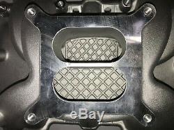 SBC Small Block Chevy 265-400 Aluminum Intake Manifold Dual Plane Pre-86