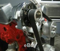 SBC Small Block Chevy Billet Aluminum Gilmer Belt Drive Pulley Kit 305 350 LWP