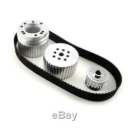 SBC Small Block Chevy Gilmer Belt Drive Short Water Pump Pulleys 327 350 383