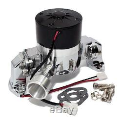 SBC Small Block Chevy HV Electric Water Pump 305 350 400 High Volume Polished