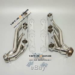 SHORTY EXHAUST HEADER MANIFOLD Fit 88-99 CHEVY/GMC C1500 C2500 K1500 K2500 V8