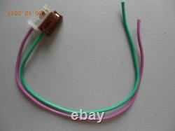 SMALL BLOCK CHEVY RED HEI Distributor & 8mm SPARK PLUG WIRES under Exhaust manif