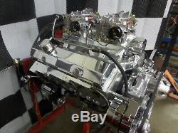 Sbc 383 Roller Stroker Engine Turn Key Crate 480hp Holley Sniper 2x4 Tunnel Ram
