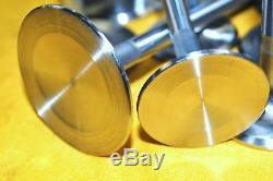 Sbc Small Block Chevy Stainless Steel Valves 2.02 1.60 New Stock Length 1pc