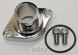 Small Block Big Block Chevy Chrome Straight Up Thermostat Housing Waterneck SBC