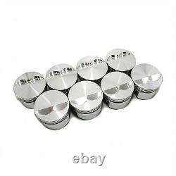 Small Block Chevy 383 Pistons 4.030 Bore 6.0 Rod 3.750 Stroke 138093 JE/SRP