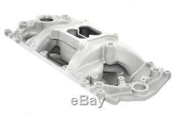 Small Block Chevy 96+ Vortec Dual Plane Air Gap Aluminum Intake Manifold SBC