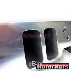 Small Block Chevy Aluminum Bare Cylinder Head Angled SBC 327 350 64CC/205CC