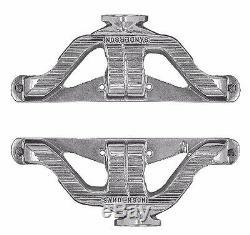Small Block Chevy Cast Series Quiet Performer Steel Exhaust Headers SBC QP1000-P