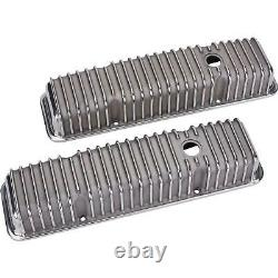 Small Block Chevy Finned Valve Covers