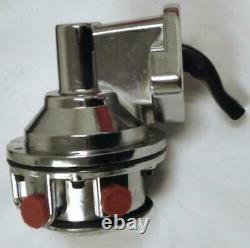 Small Block Chevy HP Mechanical Chrome Fuel Pump SBC V8 265 283 305 350 150 GPH