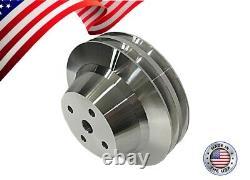 Small Block Chevy Pulley Kit V-Belt 305 327 350 400 SBC AC LWP