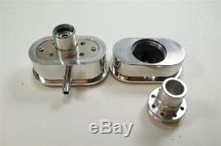 Small Block Chevy SBC 12 Air cleaner Aluminum Engine Dress Up Kit Valve cover