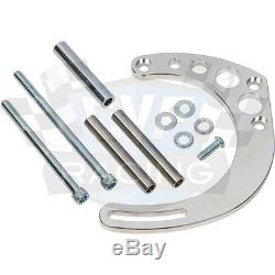 Small Block Chevy Serpentine Pulley Conversion Kit Air Conditioning Electric WP