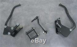 Small Block Chevy Short Pump AC Compressor Alternator Power Steering Brackets