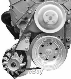 Small Block Chevy Swp Low Mount 211r Alternator Bracket