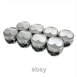 Speed Pro FMP H618CP60 Small Block Chevy 350 Domed Pistons 4.060 Dura Shield