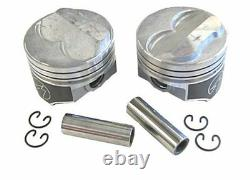 Speed Pro H617CP40 Small Block Chevy 350 358.275 Dome Hyper Pistons 040 SBC 5.7