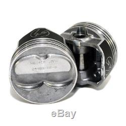 Speed Pro H634CP60 400 Domed SBC Chevy Small Block Pistons 4.185 Bore 5.7 Rod
