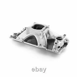 Speedmaster 1-147-014 HiRise Intake Manifold 1957-1995 Small Block Chevy 350 Non