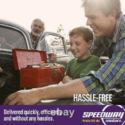 Speedway Motors SBC 350 Small Block Chevy 64-84 Chevelle Camaro Headers, Black