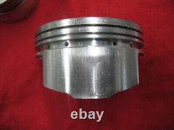 Srp 142024 Forged Domed 400 Small Block Chevy +. 030 4.155 Pistons For 6 Rod