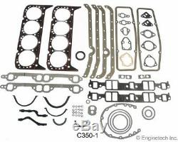 Stage 2 Camshaft Install Kit for 1967-1985 Chevrolet SBC 350 5.7L 443/465 Lift