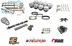 Stage 3 Engine Rebuild Kit with Dome Pistons for 1967-1980 Chevrolet SBC 350 5.7L