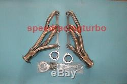 Stainless Steel Clipster Exhaust Manifold Header Kit For Chevy Small Block 4-1