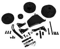 Summit Racing Chevy Small Block SBC Long Water Pump V-Belt Pulley Kit G3977B