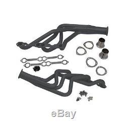 Summit Racing G9001 Headers Full-Length Steel Painted Chevy Car Small Block Pair