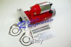 Tilton SBC BBC Chevy 3HP Mini Starter High Cranking 153 168 Red Small Big Block