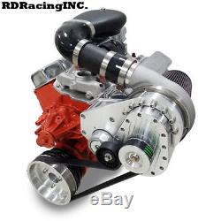 Torqstorm Supercharger Billet System Small Block Chevy Arp-k-gm-sbc-ds-swp