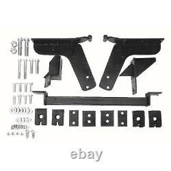 Trans-Dapt 4686 Chevy Vega SBC Small Block 350 V8 Engine Swap Mounts Only