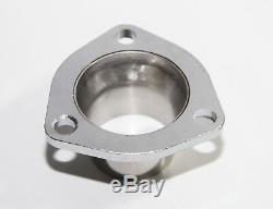 Twin SS Header/Manifold for 66-96 Chevy Small Block V8 Angle Plug Head