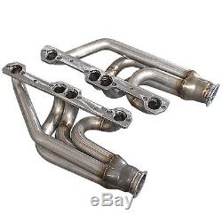 Twin Single Turbo Header For Small Block Chevy SBC GM 265 283 302 305 307