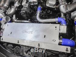Twin Turbo Header Kit GT35 For 68-72 Chevrolet Chevelle SBC Small Block Engine