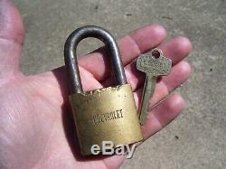 Vintage GM Chevrolet 1960s accessories auto key brass lock camaro guide service