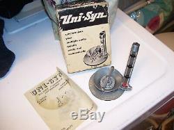 Vintage NOS uni-syn Carburetor tool synchronizer gm ford chevy rat rod pontiac