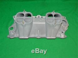 Vintage Offenhauser Chevy Sbc Dual Quad Turbo Thrust Power Port 360 Tunnel Ram