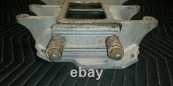 Vintage SBC Weiand 671 871 Blower Intake Manifold. Very Nice Shape