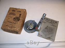 Vintage UNISYN Carburetor tuneup auto gm ford chevy pontiac rat hot rods porsche