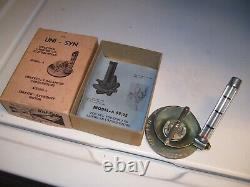 Vintage UNISYN nos Carburetor tuneup auto gm pontiac ford chevy hot rod porsche