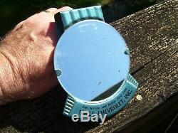 Vintage original 1960' s GM CHEVROLET Vanity visor mirror dealer promo auto part
