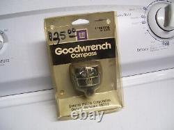 Vintage original GM nos Compass Chevy Corvair Chevelle accessory gauge GTO nova